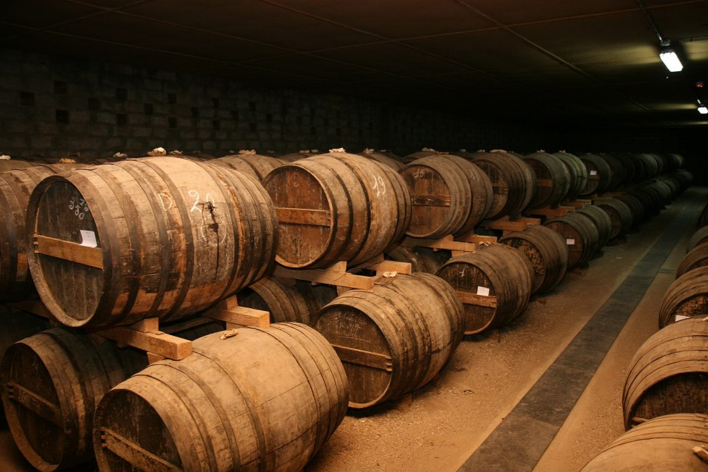 storage cognac casks quality